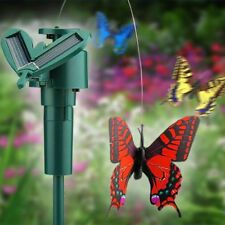 Fluttering Solar/Battery Powered Butterfly with Ground Spike (Random Color)