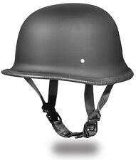 Daytona DOT Motorcycle German Helmet - Matte Black (M) - FREE SHIPPING (US)!!