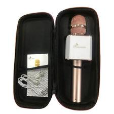 Q9 Player Mikrofon Wireless Tragbar Microphone Lautsprech Rose Gold  Karaoke