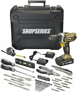 "Rockwell SS2811K.1 ShopSeries 18 V Lithium-ion 3/8"" Drill Driver Value Kit"