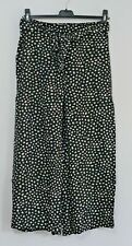 NEW FAT FACE EXMOUTH CROP TROUSERS POLKADOT