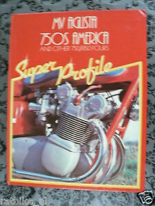 MV AGUSTA 750 S AMERICA SUPER PROFILE AND OTHER 750/850 FOURS HAYNES