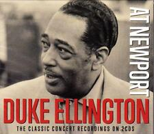 DUKE ELLINGTON - AT NEWPORT - THE CLASSIC CONCERT RECORDINGS (NEW SEALED 2CD)