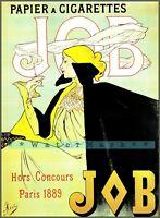 JOB 1896 Vintage Poster Print Retro Art Nouveau French Paper Advert