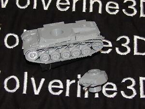 Flames Of War German 1/100 PZKW IIf Tank 15mm FREE SHIPPING