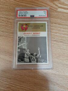 1961 Fleer #66 Jerry West IA, centered PSA 5, no reserve!