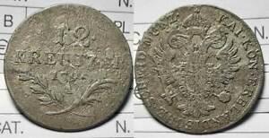 Austria 12 Kreuzer 1795 A Franz II./I.(1741 - 1805) MI  Qualita':B/MB-#294