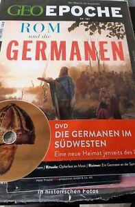 Wow Geo Epoche 107 mit DvD - Rom Und Die Germanen - Neu