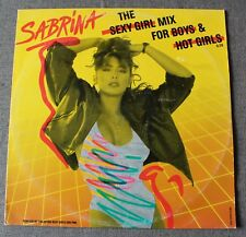 Sabrina, the sexy girl mix for boys & hot girls, Maxi Vinyl