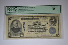 Lynchburg, VA - $5 1902 Plain Back Fr. 598 The Peoples NB Ch. # (S)2760. PCGS VF