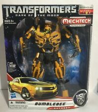 BUMBLEBEE TRANSFORMERS DARK OF THE MOON MECHTECH WEAPON SYSTEM LEADER CLASS
