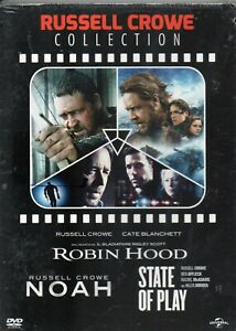 RUSSELL CROWE ( COLLECTION ) 3 DVD