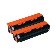 2 Pack HP 131X CF210X BLACK TONER CARTRIDGES Laserjet pro 200 M251NW M276NW