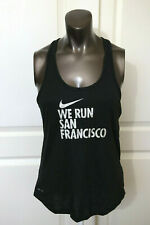 Nike Women's We Run San Francisco Dri - Fit Tank Top Running Shirt sz L $35.00