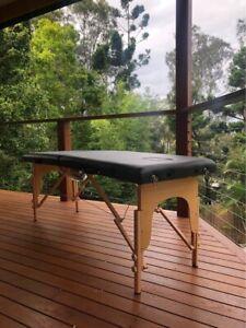 German Beachwood Frame - Massage Table - NEW - 60cm WIDE