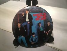 """New Kids On The Block 6"""" Pin Button Large Collectible 1990 Big Step Productions"""