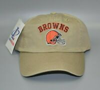 Cleveland Browns Logo Athletic NFL Vintage Relaxed Fit Strapback Cap Hat - NWT