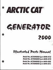 Arctic Cat Generator 2000 Model (See Cover For All Models Parts Manual (561)