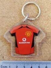 MANCHESTER United OSHEA plastic football kit keyring