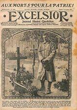 Toussaint Fête des Morts Tombes des Poilus Bataille de la Marne  WWI 1915