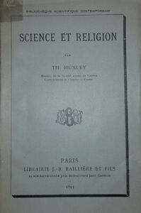 Science et religion par Th. Huxley.