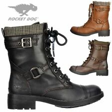Rocket Dog Block Synthetic Leather Boots for Women