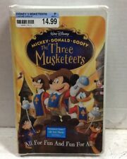 The Three Musketeers Sealed VHS