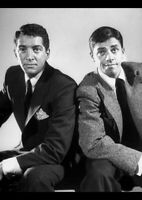 "DEAN MARTIN JERRY LEWIS A4 GLOSS POSTER PRINT LAMINATED 11.7""x8.3"""