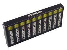 10x INTENSILO Batterie 1.5V AAA / Micro / R3 / HR03