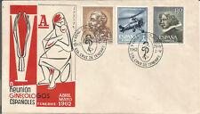 Sobre Conmemorativo V Congreso de Ginecología Sta. Cruz de Tenerife 1962