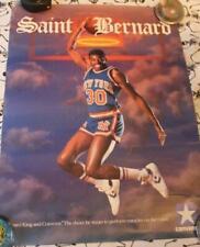 "Bernard King ""Saint Bernard"" Converse Sneakers Poster Vintage NBA NY Knicks 80s"