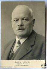 Serlin . Isère . photo ancienne . Joseph Serlin maire de Crachier . Sénateur