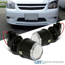 JDM H3 12V/55W Clear Glass Lens Projector Fog Lights Driving Lamps Kit