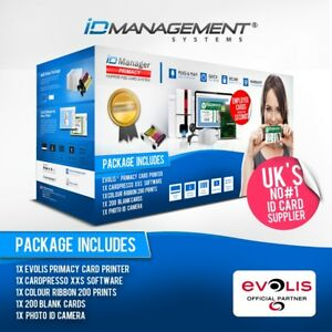 Evolis Primacy Single Sided Card System • Printer & Consumables • 5000+ Sold