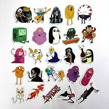 Adventure Time Stickers 30 pcs Finn & Jake Stickerbomb Cartoon Phone Skateboard