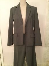Hugo Boss Gray Wool Pant Suit size 8