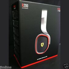 NEW Scuderia Ferrari R200 Headphone Silver/Black for iPhone and other mobile