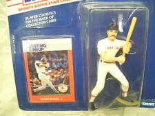 Wade Boggs Baseball Figure and Card 1988 Kenner NIP Red Sox MLB