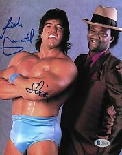 Rick Martel & Slick Signed 8x10 Photo BAS Beckett COA WWE WWF Picture Autograph