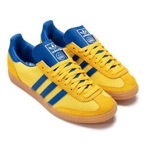 adidas Malmo Net SPZL Wonder Glow H03906 Men's Sneakers Low Top Yellow Shoes