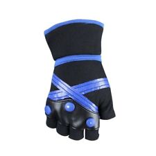 Kingdom Hearts Cosplay Costume Accessory Pair of Sora Black / Blue Gloves