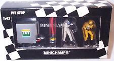 F1 addetto ai PIT STOP WILLIAMS rifornitore di combustibile a Set intorno al 2001 1-43 SCALA