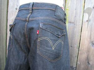 Levis 569 Loose Straight Blue Jeans Cover pockets 34x33