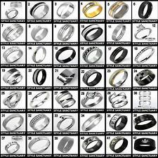 5 x Wholesale Joblot Ring - Men Women Ladies Girl Boy – Jewellery Clearance Sale