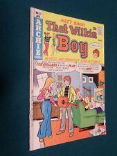 THAT WILKIN BOY #31, (Meet Bingo) Archie Comics Jan.1975