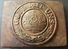 More details for ✚7534✚ german prussian m1895 / ww1 belt buckle enlisted men nco one piece const.