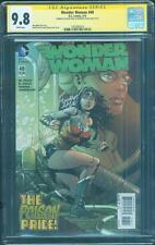 Wonder Woman 48 CGC 2X SS 9.8 Finch Justice League Top 1 Classic Movie key