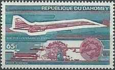 Timbre Avions Concorde UPU Dahomey PA216 * lot 26478