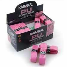 24 x Karakal SUPER PU sostituzione grip-TENNIS-Squash-Badminton - Rosa