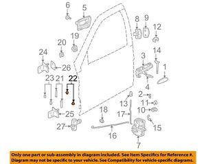 Saturn GM OEM 2000 LW2-Exterior Moulding Clip-Plug 24462701